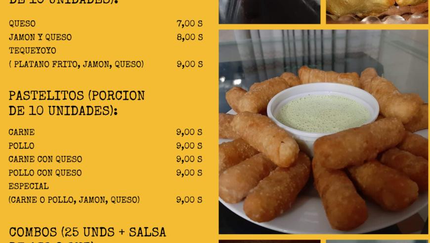 Amarillo-Restaurante-Comida-Rápida-Menú